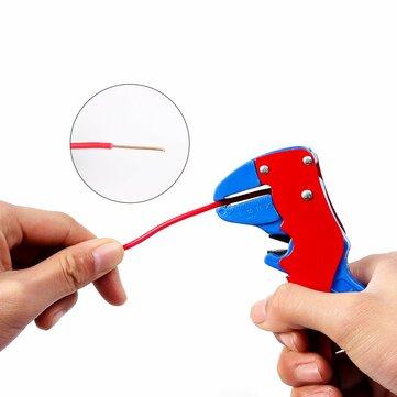 HILDA 0.2-3mm² Self-adjusting Insulation Wire Stripper Plier Automatic Cable Wire Stripper Cutter