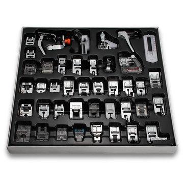 42 Máquina de coser doméstica del PCS Máquina de coser de los pies de Presser del pie