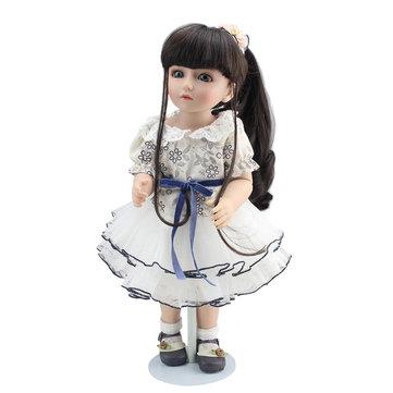 NPK 18'' Handmade Realistic SD BJD Lifelike Baby Joint Doll For Girl Boy