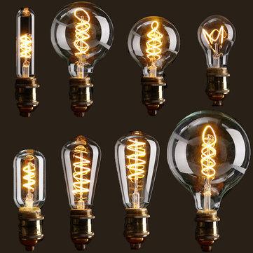 E27 Dimmerabile COB LED Vintage Retrò Industriale Edison lampada Illuminazione interna Lampadina a filamento AC110V