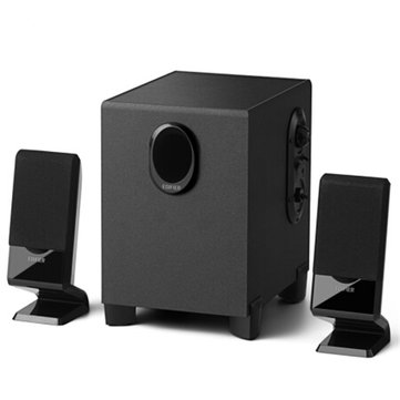 Edifier R101V Mini Laptop Audio Multimedia Desktop Subwoofer 2.1 Channel Wooden Wired Speaker