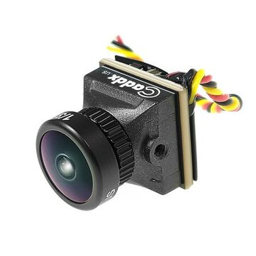 Caddx Turbo EOS2 4:3 1200TVL 2.1mm 160 Degree 1/3 CMOS Mini FPV Camera NTSC/PAL For RC Drone