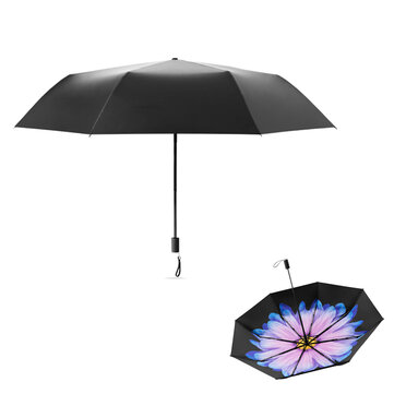 How can I buy Beneunder Mini Folding Sun&rain Umbrella UPF 50+ LRC Vinyl 99% UV Protection Double Layer 386g Printing Umbrella with Bitcoin