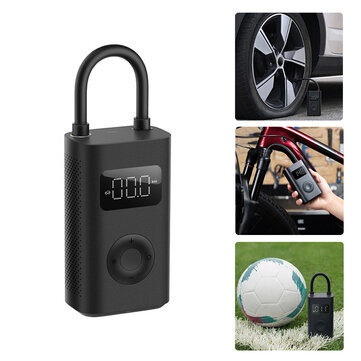 XIAOMI Mijia 1S 150PSI Air Pump Multi_function 4000mAh Type_C 5 Modes Auto Tire Pump with LED Light for Car Bike Motorcycle Ball