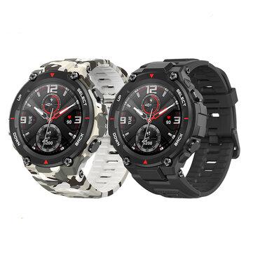 bluetooth 5.0Amazfit T Rex AMOLED GPS + GLONASS Outdoor Watch 14 Sport Modes Track Weather Forecast Smart Watch Global Version