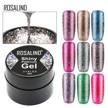 Buy Shiny Style Painted Nail Polish 5ml for UV LED Lamp with Litecoins with Free Shipping on Gipsybee.com