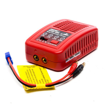 Dynamite Prophet Sport Mini 50W Multichemistry AC Balance Charger for 2S/3S/4S Li-Po 6-8 Cell NI-MH Battery
