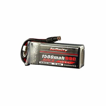 AHTECH Infinity 1500mah 14.8V 90C 4S1P Race Spec Lipo Battery for RC Drone