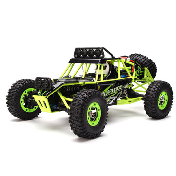 WLtoys 12428 2.4G 1/12 4WD Crawler RC Car With LED Light COD