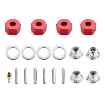SST 1937/PRO 1/10 Brushless RC Upgraded Wheel Hex Set Car Spare Parts 109017