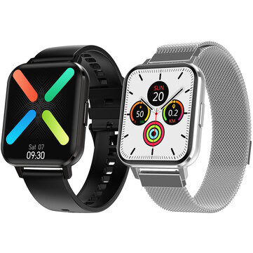 Dual Menu StyleDT NO.1 DTX 1.78 High Resolution Full Touch Screen ECG Heart Rate Blood Pressure Oxygen Monitor Multiple Dial IP68 Waterproof BT5.0 Smart Watch