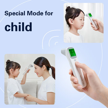 Baby Infrared Digital Thermometer LCD Body Measurement Fever Body IR Forehead Ear Non-Contact Adult Children Temperature Sensor