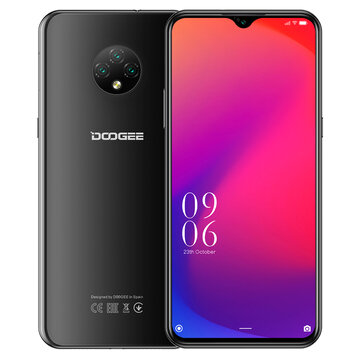 DOOGEE X95 Global Version 6.52 inch Android 10 4350mAh Face Unlock 13MP Triple Rear Camera 2GB 16GB MT6737V 4G Smartphone