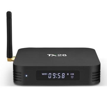 Tanix TX28 RK3328 4GB RAM 32GB ROM 5G WIFI bluetooth 4.1 USB3.0 TV Box