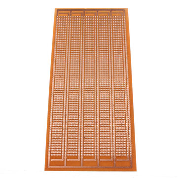 8.5x20cm DIY PCB Prototype Printed Circuit Board Stripboard Single Side
