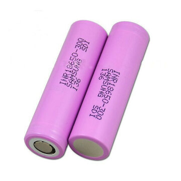2PCS INR18650-30Q 3000mah 20A Flat Top Protected Power 18650 Li-ion Battery for Samsung