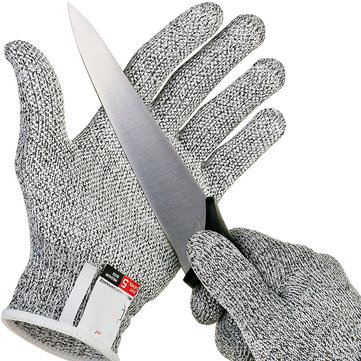 Anti-cutting Gloves Safety Cut Proof Stab Resistant Stainless Steel Wire Metal Mesh Kitchen Butcher Cut-Resistant Safety Gloves