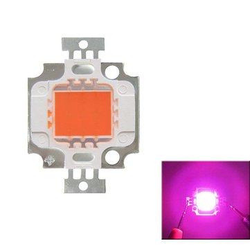 Full Spectrum 10W Roze LED Plant Grow Light Lamp Chip voor Tuin 9-12V