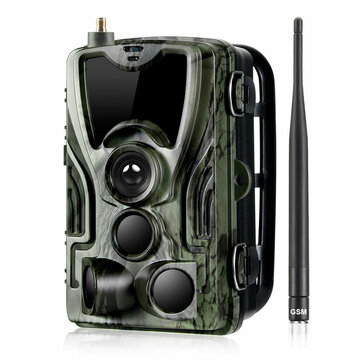 HC-801M 2G 1080P HD 16MP Avcılık Yaban Hayatı Trail Parça Kamera Destek GPRS GSM MMS SMTP SMS
