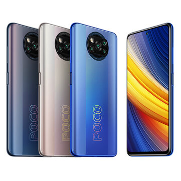 POCO X3 Pro Global Version Snapdragon 860 6GB 128GB 6.67 inch 120Hz Refresh Rate 48MP Quad Camera 5160mAh Octa Core 4G Smartphone