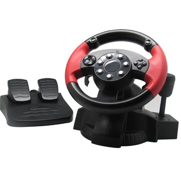Buy GAMEMON F1 Racing Steering Wheel for PS3 PS2 STEAM All-in-one Wired Vibration Steering Racing Simulator Rubber Grip for PS3 PS2 Steam with 10 on Gipsybee.com