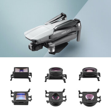Wide Angle Lens/Fisheye Lens/1.33X Movie Shots for DJI Mavic Air 2 RC Quadcopter