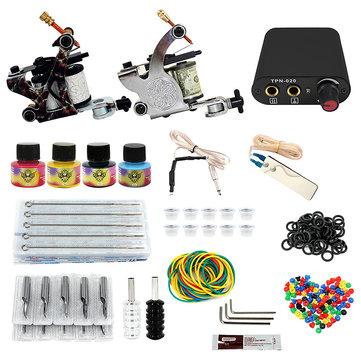 8-10v professional 2 tattoo machine tools kit at Banggood