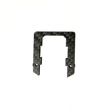 Dragon Frog 3 Inch 139mm Frame Kit Spare Part 1.5mm Little Upper Plate Carbon Fiber