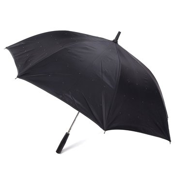 23 Inches LED Light Long-handled Flashlight Umbrella Stars Umbrella