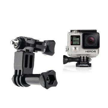 Gopro Hero için üç yönlü Ayarlanabilir Pivot Kol Tutucu 1 2 3 3 Plus 4 Kamera Fotoğraf Aksesuarları