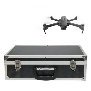 Waterproof Portable Alluminum Carrying Case for Hubsan Zino PRO Plus RC Quadcopter