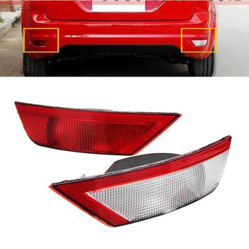 Left/Right Side Rear Tail Fog Light Bumper Reflector for Ford Focus 2008-2012
