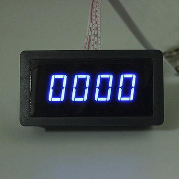 4 Digital LED Tachometer RPM Speed Meter + Proximity Switch Sensor NPN