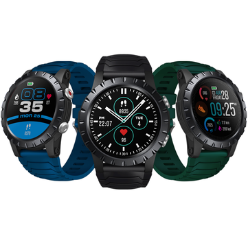 [4_SATELLITE_3 Modes GPS] Zeblaze Stratos 1.32 inch 360*360px Screen HR SpO2 VO2 Max Monitor 120+ Sports Modes 25 Days Standby 5ATM Waterproof Outdoor Smart Watch