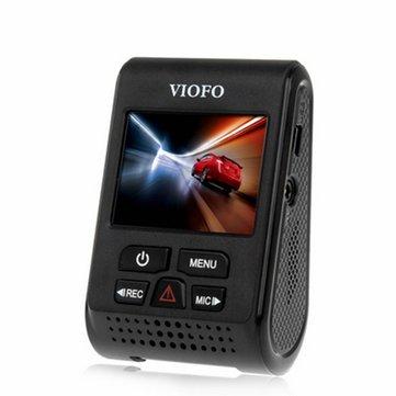 V119X Versão V2 VIOFO 2 carro Inch Dashcam 6G F1.6 lente de vídeo 135 grau carro DVR com função GPS