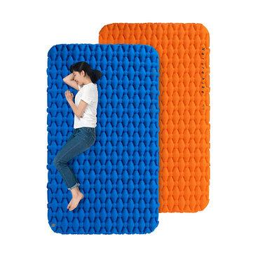 Naturehike NH19Z055-P 200x120 Nafukovací vzduchové matrace s dvojitým kempem Stan spací matrace vlhkosti Proof Pad