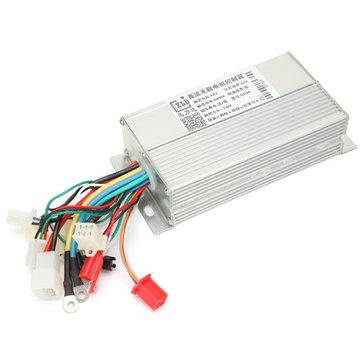 36V 48V 60V 64V 500W 600W Dual Mode Elektrisk Fordon Borstlös DC Motor Controller