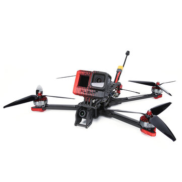 iFlight Chimera7 LR Analog 320mm SucceX-D F7 V2.1 5-6S 7 Inch Long Range Freestyle FPV Racing Drone BNF w/ 5.8G 800mW VTX Caddx Ratel 1200TVL Camera