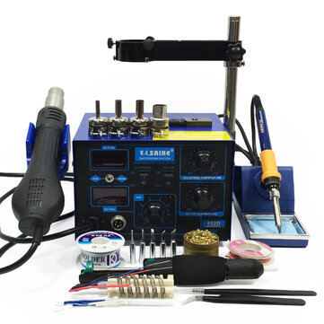 How can I buy Saike 952D AC 110V   220V 760W Soldering Station BGA 2 in 1 SMD Rework Soldering Station Hot Air Heater with Bitcoin