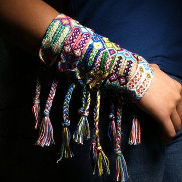 Pom pom jewellery  Pompon bracelet  Handmade tassel  Brass beaded bracelet  Glass beads jewellery  Handmade by LeFouillisDeMarie