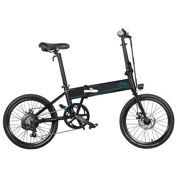 EU Direct FIIDO D4s 10.4Ah 36V 250W 20 Inches Folding Moped Bicycle 25km or h Top Speed 80KM Mileage Range Electric Bike
