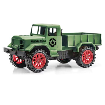 URUAV 1/24 27Mhz 4WD Crawler Off Road RC Car RTR Vehicle Models Military Truck