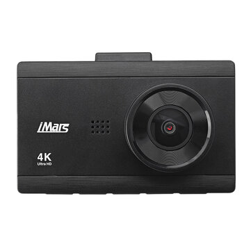 iMars DC-40 3Inch 4K HD Car DVR Camera Dual Lens Loop Recording 170 Degree Parking Monitoring Dash Cam Front Rear Recorder