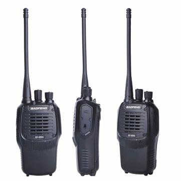 BAOFENG 999S Walkie Talkie Single Banda Two Way Radio Interphone for Security Hotel