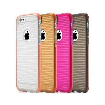 Shock Resistant Buffer Series Case Deksel TPU Beskyttelse Shell For iPhone 6 6S