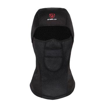 ウィールアップウィンタースキーサイクリングフェイスマスクMTB Road Windproof Warm Mask自転車ハットヘッドウェア