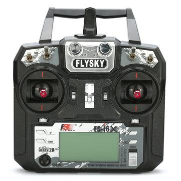 Flysky i6X FS-i6X เครื่องส่งสัญญาณ AFHDS 2A RC ขนาด 10 นิ้ว 2.4GHz X6B / IA6B / A8S ตัวรับ สำหรับ FPV RC โดรน