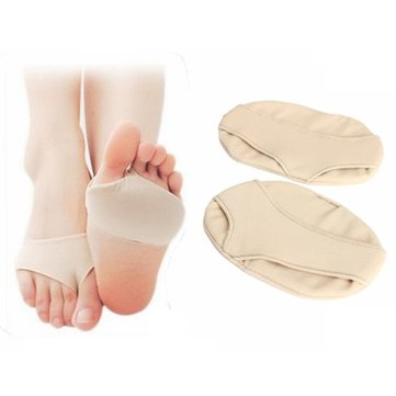 Small Soft Forefoot Half Sole Protector Pad Relif Pain Silicone Gel Foot Care Cushions