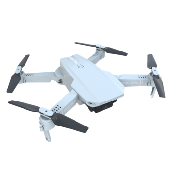 KF609 TENG Mini With Dual Cameras Optical Flow Positioning Gesture Recoding Aerial Folding RC Quadcopter RTF