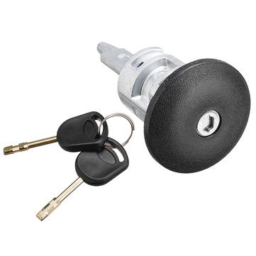 Front Right Door Lock Barrel with 2 Key for T-ransit MK6 MK7 4060638 2000-2014 Driver Side Latch